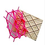 Yingwei Hot Pink Candy Molds, Chocolate Molds, Silicone Molds,Baking Molds Pastry Cake Decoration Tool