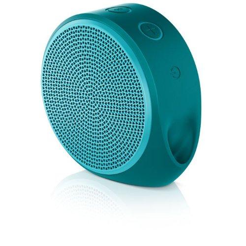 Logitech X100 Mobile Lautsprecher (Bluetooth, micro-USB Ladekabel) grün