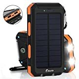 Best Solar Chargers - Solar Charger 20000mAh Power Bank, Portable Charger Solar Review