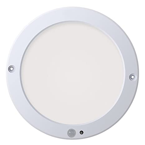 Xing ruiying – Lámpara de techo LED con detector de movimiento interior blanco cálido, 18