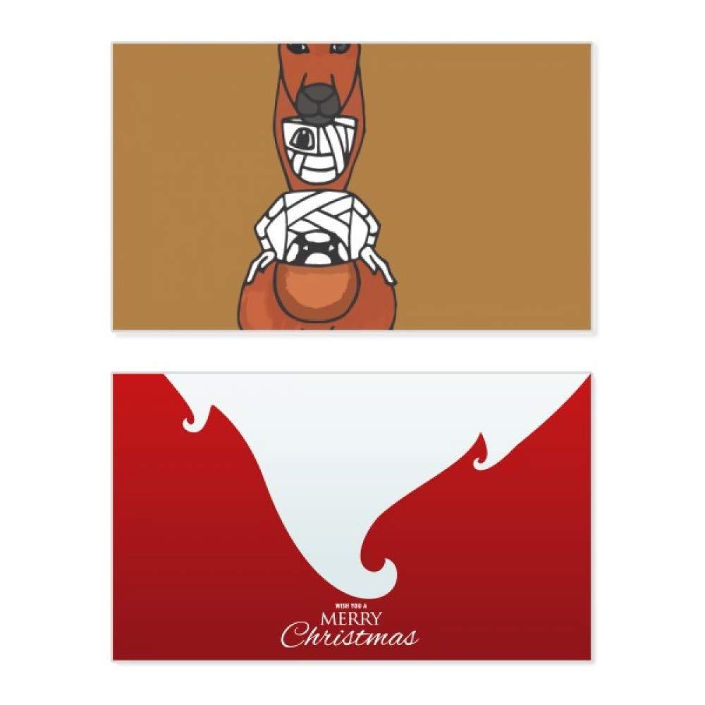 Australia Mummy Kangaroo - Tarjeta de felicitación navideña ...