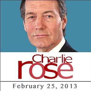 Charlie Rose: Steve Rattner, Amy Richards, and Gloria Steinem, February 25, 2013 Radio/TV Program