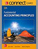 img - for Connect Access Card for Fundamental Accounting Principles book / textbook / text book