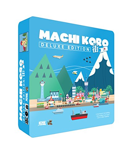 Machi Koro Card Game Deluxe Edition Card (Japanese Board Game)