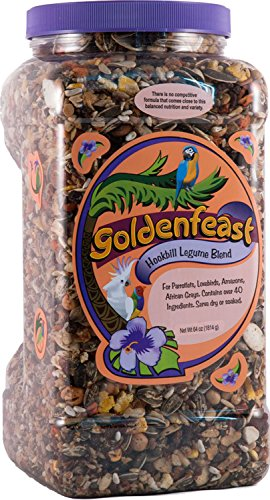 Goldenfeast Hookbill Legume Blend 64Oz Bird ()
