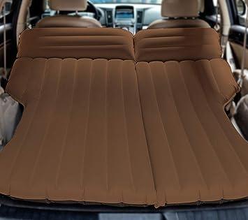 Zooma SUV Coche Viaje 4/6 Split Colchón Inflable Flocado Cama de ...