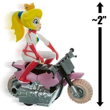 Princess Peach Bike 2 Mario Kart Pull Back Racer By Gacha