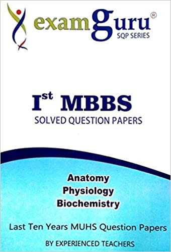 Buy 1st Mbbs Solved Question Papers Last 10years Muhs Question