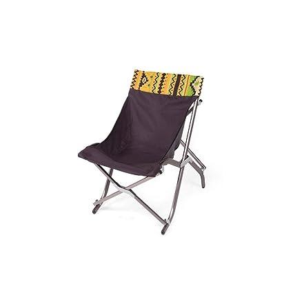 Amazon.com: Silla plegable para acampada y montaña, para el ...