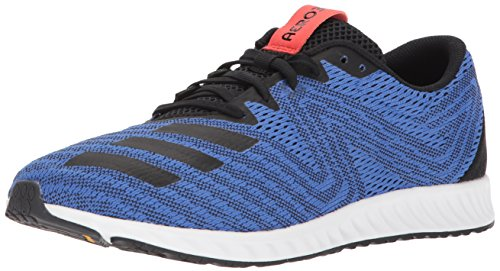 adidas Performance Men's Aerobounce PR m Running Shoe Hi-Res Blue/Core Black/Hi-Res Red 13 M US