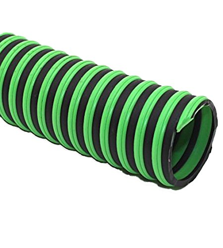 Thermoplastic Rubber Hose - Continental ContiTech 20450177 Thermoplastic Rubber Green Hornet XF Hose, 1.78 psi Maximum Pressure, 100' Length x 1.5