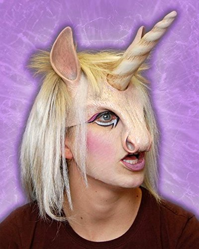Zagone Unicorn Head Piece Mask, Fantasy Horse,  Horn & -