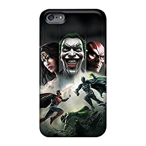 88caseme Apple Iphone 6s Plus Shockproof Cell-phone Hard Covers Provide Private Custom Stylish Injustice Pattern [ORC1787JHwS]