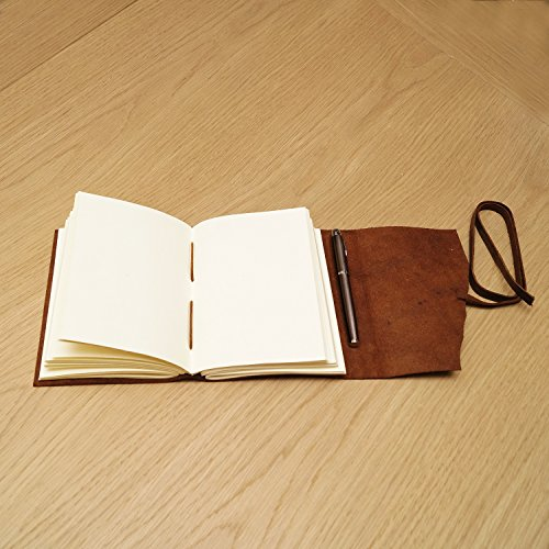 Nomads Vintage Antique Bound Hand Made Leather Journal Photo #5