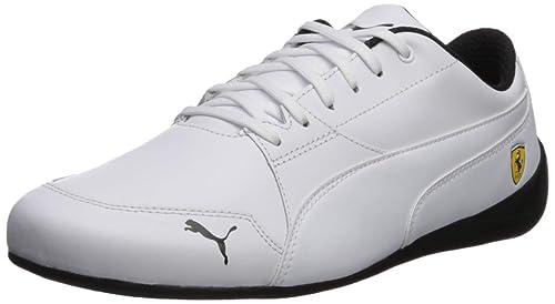 3f42ece59fa56 Puma Men's Ferrari Drift Cat 7 Leather Stripe Sneaker
