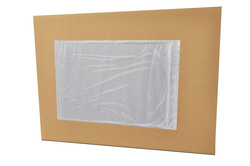 7'' x 10'' Packing List Back Side Loading Plain Face Envelopes Pouches ( 1000 pcs )