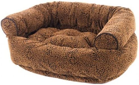 Bowsers Double Donut Dog Bed in Celadon Microfiber
