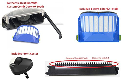 Upgraded Irobot Roomba Aerovac Dust Bin With Comb Door 500