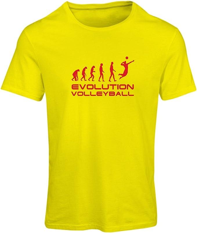 lepni.me Camiseta Mujer La Historia y la evolución del Juego de Voleibol