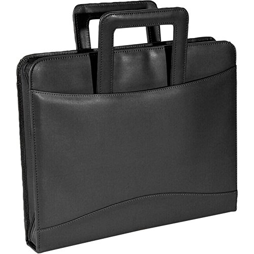 Royce Leather Zip Around Binder Padfolio,Black,One Size by Royce Leather