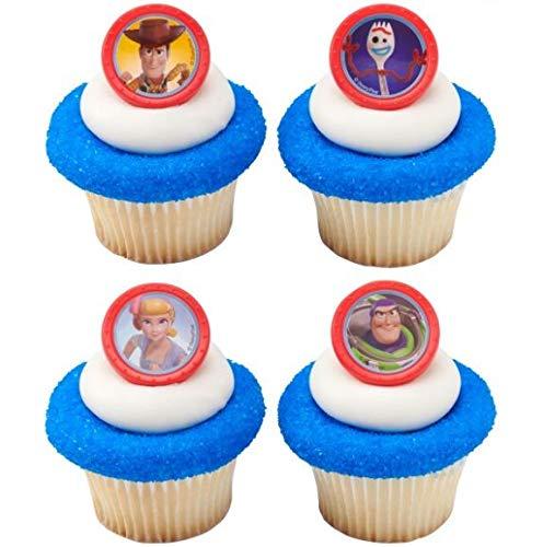 DecoPac Toy Story 4 Disney/Pixar Cupcake Rings - 12 count]()