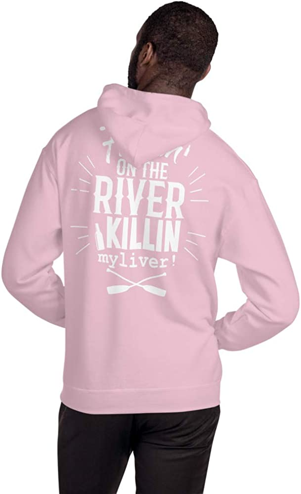 Unisex Hoodie Floating on The River