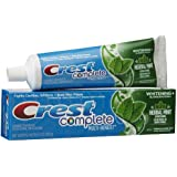 Crest Whitening Expressions Fluoride Anticavity Toothpaste, Extreme Herbal Mint - 6 oz