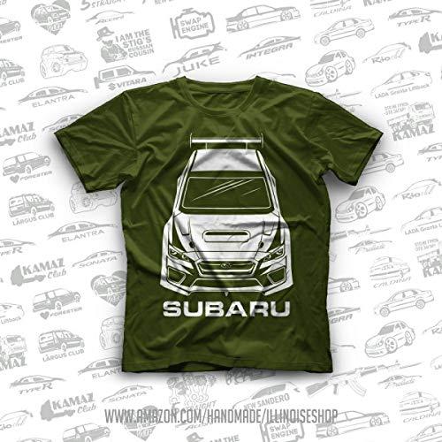 Subaru Impreza WRX STI Turbo Original T-Shirts 100% Cotton Free Shipping ()