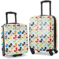 American Tourister Disney Hardside Luggage with Spinner Wheels (Mickey Mouse 2)