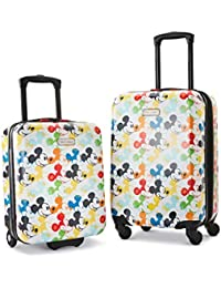 Disney Hardside Luggage with Spinner Wheels, Mickey Mouse 2, 2-Piece Set (18/21)