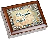 Cottage Garden Daughter Heartfelt Dreams Come True Musical Music Jewelry Box Plays You Light Up My Life by Cottage Garden