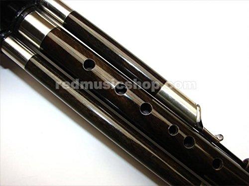 Professional Ebony Hulusi, Pluggable and Adjustable (F Key)