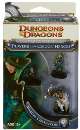 Wizards Of The Coast - Dungeons & Dragons Miniatures : PHB Martial Heroes 3