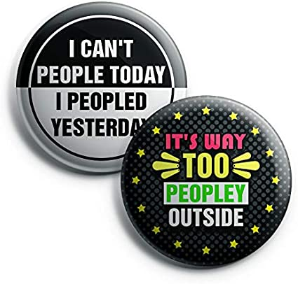 Epic Collection Set Funny Pinback Buttons Cool Fashion Accessories Indoor Outdoor Wear Great DIY Kit 10-Pack Adulting Unique Button Pins for Men Women Teens Employees Professionals