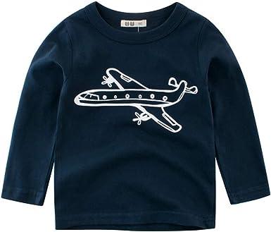 Otoño Niños Camiseta Bebé Niño Niñas Ropa Algodón Niños Camisetas ...