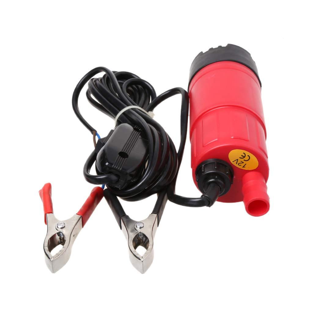 24V del Combustible del Aceite de sentina de la Mini Bomba Sumergible pl/ástica Diesel 12v JunYe Extractor el/éctrico 12V