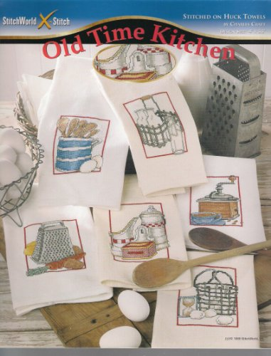 Old Time Kitchen: Stitched on Huck Towels ()