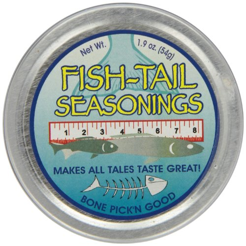 Dean Jacobs Fish Tail Seasoning Rub, 1.9-Ounce Tins (Pack of 6)