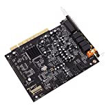 Dovewill PCI-E 5.1 Surround PCI Sound Audio Card Desktop with Sound Font CD for PC Windows XP/Vista/7