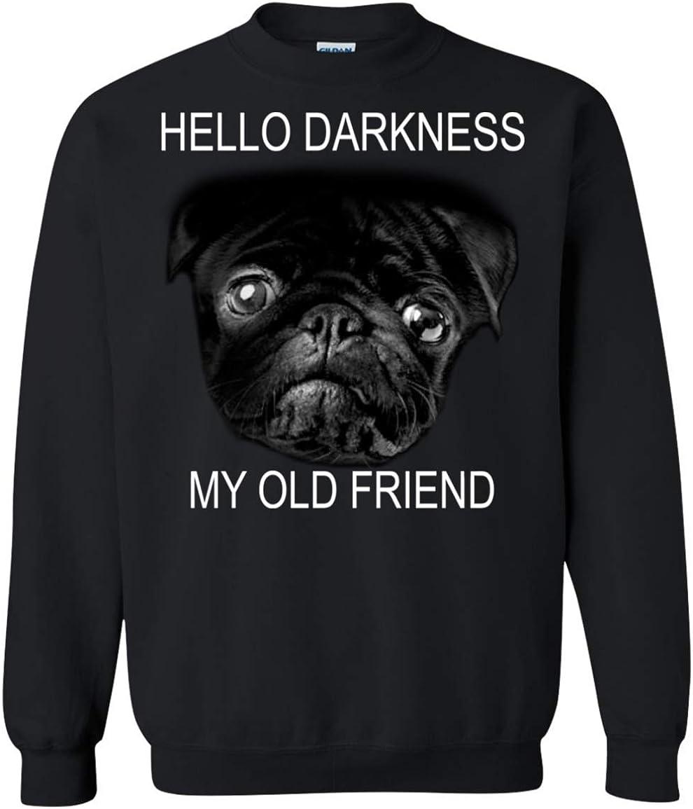 Pugs Dog Brother Youth Boy Girl Lightweight Pullover Sweatshirt Funny Shirt
