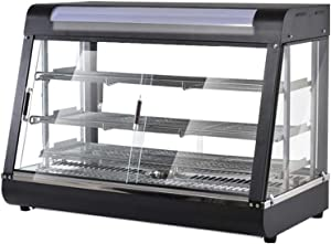 Sararoom 1500W Commercial Food Warmer, Display Hot Food Countertop Warmer 3 Tier, Pastry Patty Warmer for Buffet Restaurant and Shop - 35.4''x19.3''x37.2''