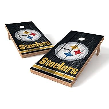 Pittsburgh Steelers Cornhole Board Set - Vintage