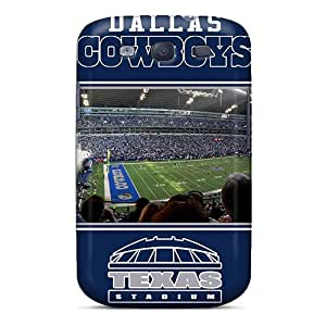 Perfect Cell-phone Hard Cover For Samsung Galaxy S3 (FQY1273fCeC) Support Personal Customs Trendy Dallas Cowboys Image