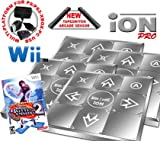 4 x Wii Dance Dance Revolution Limited Edition iON Pro Metal Dance Pad + Dance Dance Revolution DDR