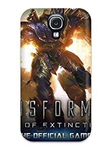 ErgYbsL26140ebMBZ Transformers Age Of Extinction Fashion Tpu S4 Case Cover For Galaxy