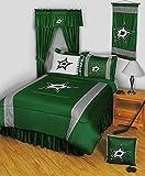 NHL Dallas Stars Comforter Set 3 Pc Queen Hockey Bedding