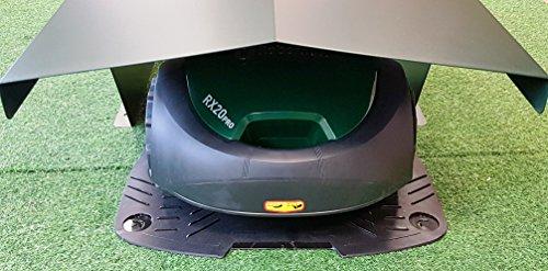 CODI Caseta/Garaje Robot cortacésped, Mod 550 Aluminio, Válido par Todos los Fabricantes (Ambrogio, Gardena, Honda, Husqvarna, Viking Wolf, Robomow, ...