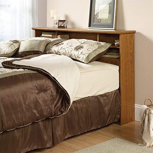 Sauder 401294 Orchard Hills Full/Queen Bookcase Headboard, Carolina Oak finish by Sauder
