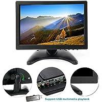 10.1 HD USB Multi-media Player IPS LCD 1280x800 HDMI AV BNC VGA TFT LED Monitor