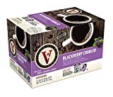 Victor Allen Coffee, Blackberry Cobbler Single Serve K-cup, 12 Count (Pack of 6) (Compatible with 2.0 Keurig Brewers)